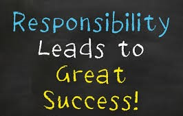 October's Character Trait: Responsibility